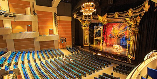 marina bay sands theatre